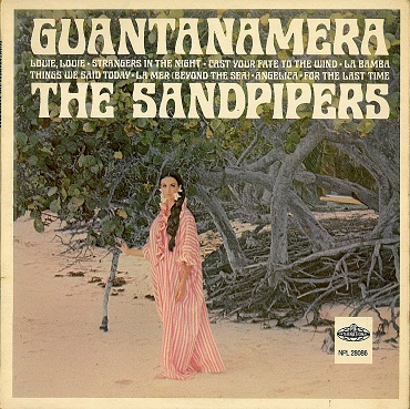 The Sandpipers Guantanamera Lp Vinyl Record Album 33rpm