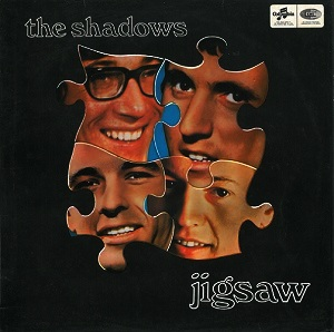 The Shadows Jigsaw Vinyl Record Lp Columbia Scx 6148