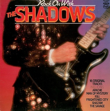 The Shadows Rock On With The Shadows Lp Vinyl Record Album