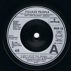 Village People Y M C A 7 Single Vinyl Record 45rpm Us