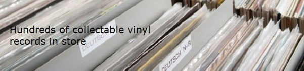 Vintage Collectable Vinyl Records