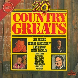 20 Country Greats Vinyl Record LP Pickwick 1974