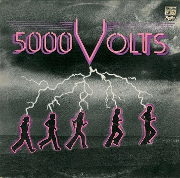 5000 VOLTS 5000 Volts LP Vinyl Record Album 33rpm Philips 1976