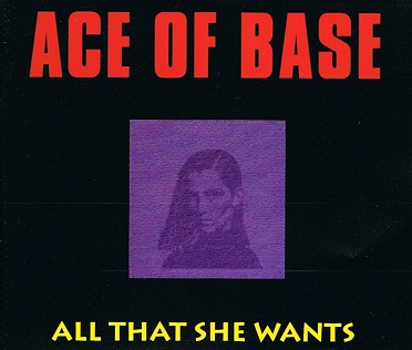 ACE OF BASE All That She Wants CD Single Metronome 1992