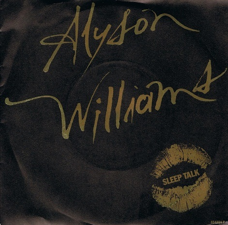 "ALYSON WILLIAMS Sleep Talk 7"" Single Vinyl Record 45rpm Def Jam 1989"