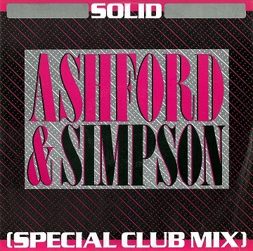 "ASHFORD & SIMPSON Solid (Special Club Mix) 12"" Single Vinyl Record Capitol 1984."