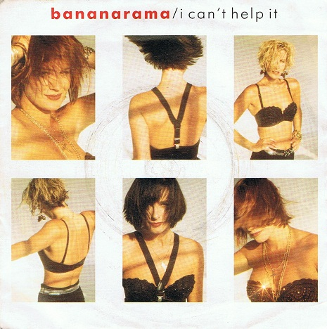 "BANANARAMA I Can't Help It 7"" Single Vinyl Record 45rpm London 1987"