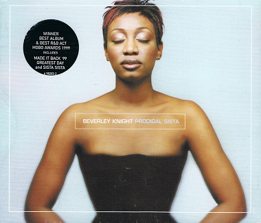 BEVERLEY KNIGHT Prodigal Sista CD Album Parlophone 1999