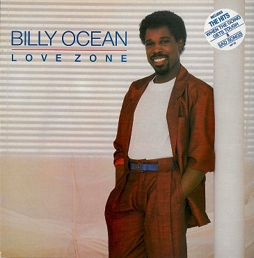 BILLY OCEAN Love Zone LP Vinyl Record Album 33rpm Jive 1986