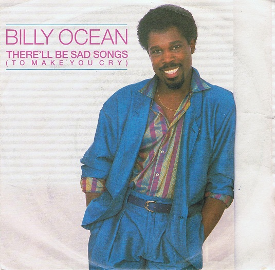 "BILLY OCEAN There'll Be Sad Songs (To Make You Cry) 7"" Single Vinyl Record 45rpm Jive 1986"