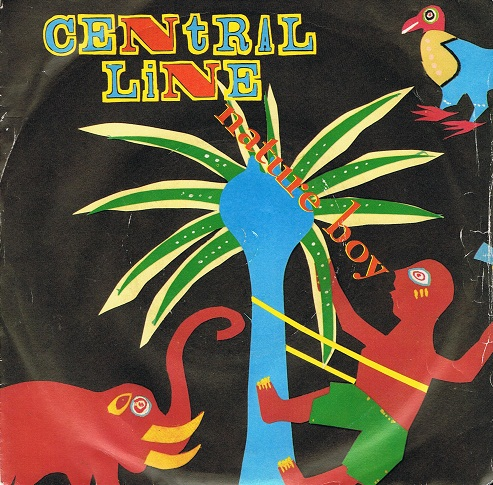 "CENTRAL LINE Nature Boy 7"" Single Vinyl Record 45rpm Mercury 1983"