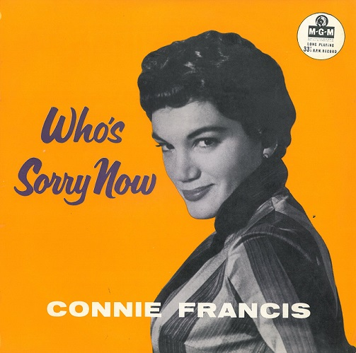 Connie Francis Who S Sorry Now Vinyl 10 Inch Planet