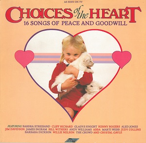 Choices Of The Heart Vinyl Record LP Stylus 1985