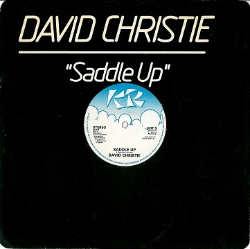 "DAVID CHRISTIE Saddle Up 12"" Single Vinyl Record KR 1982"
