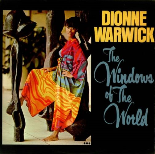DIONNE WARWICK The Windows Of The World Vinyl Record LP Pye 1967