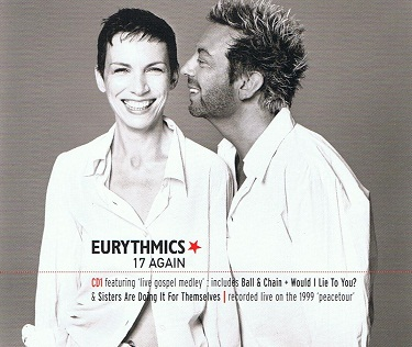 EURYTHMICS 17 Again CD Single RCA 2000