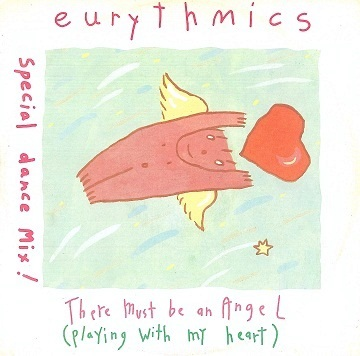 "EURYTHMICS There Must Be An Angel (Playing With My Heart) (Special Dance Mix) 12"" Single Vinyl Record RCA 1985"
