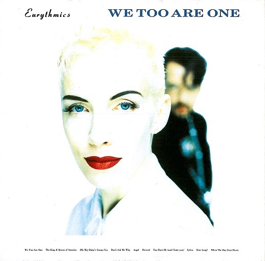Eurythmics We Too Are One Lp Vinyl Record Album 33rpm