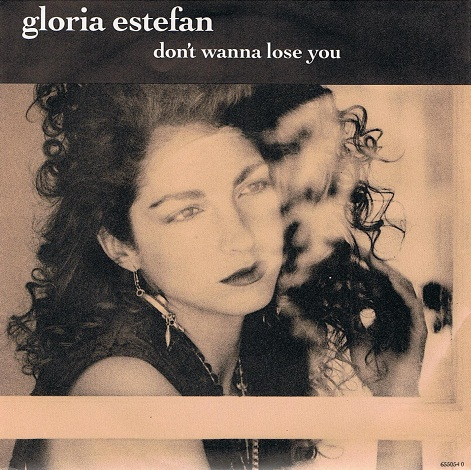 Gloria Estefan Anything For You Vinyl Record 7 Inch Epic