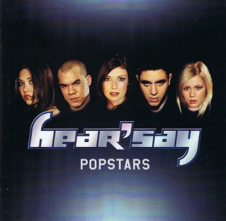 HEAR'SAY Popstars CD Album Polydor 2001