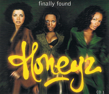 HONEYZ Finally Found CD Single Mercury 1998