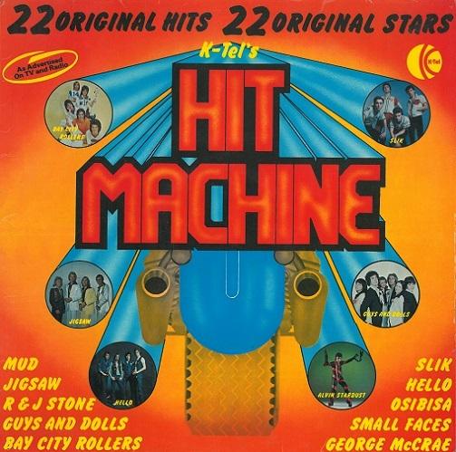 Hit Machine Vinyl Record Lp K Tel Te 713