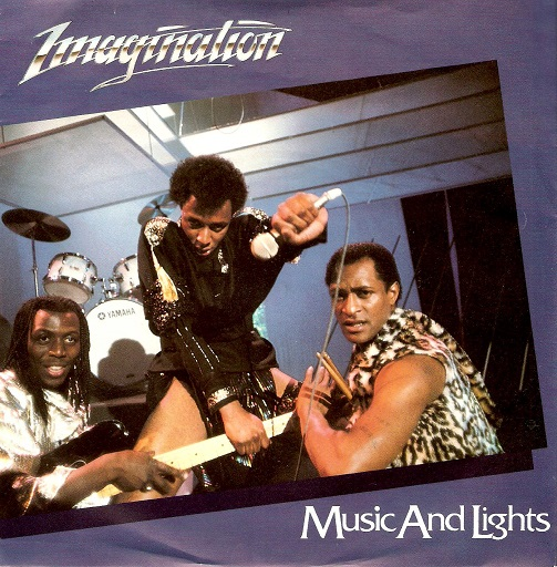 IMAGINATION Music And Lights Vinyl Record 7 Inch R&B 1982