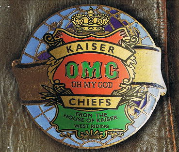 KAISER CHIEFS Oh My God CD Single B-Unique 2005