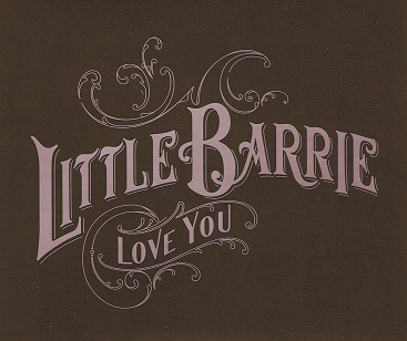 LITTLE BARRIE Love You CD Single Genuine 2006