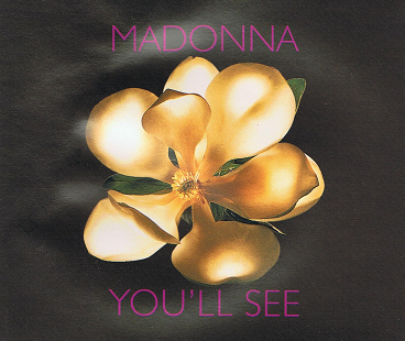 MADONNA You'll See CD Single Maverick 1995