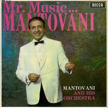 MANTOVANI Mr. Music...Mantovani LP Vinyl Record Album 33rpm Decca 1966