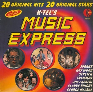 Music Express Vinyl Record Lp K Tel Te 702