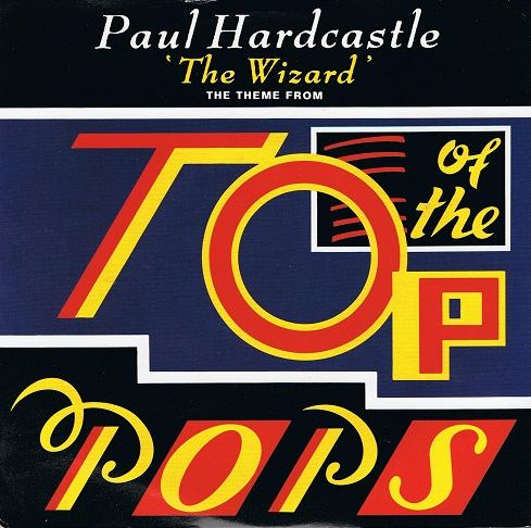"PAUL HARDCASTLE The Wizard 7"" Single Vinyl Record 45rpm Chrysalis 1986"