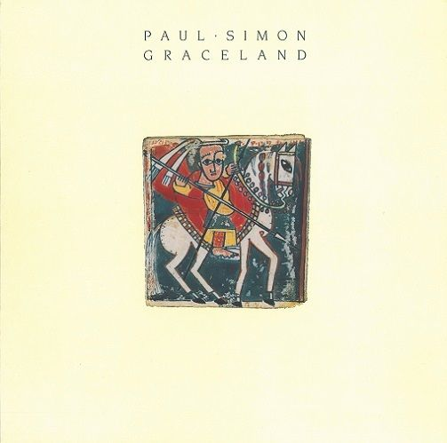 PAUL SIMON Graceland Vinyl Record LP Warner Bros. 1986