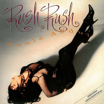 "PAULA ABDUL Rush Rush 12"" Single Vinyl Record Limited Edition Picture Disc Virgin America 1991"