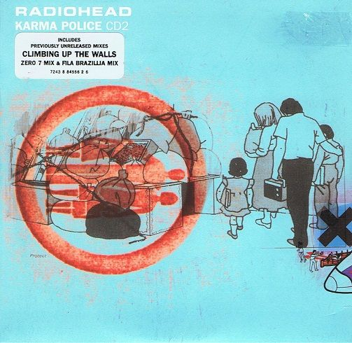 RADIOHEAD Karma Police CD Single Parlophone 1997.