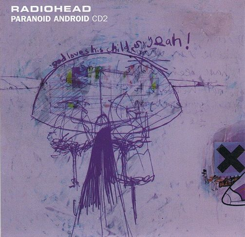 RADIOHEAD Paranoid Android CD Single Parlophone 1997.