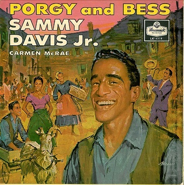 Sammy Davis Jr And Carmen Mcrae Porgy And Bess Lp Vinyl