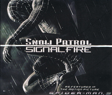 SNOW PATROL Signal Fire CD Single Polydor 2007