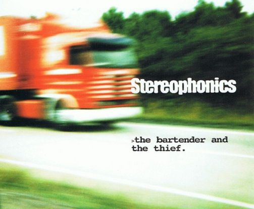 STEREOPHONICS The Bartender And The Thief CD Single V2 1998