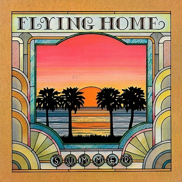 SUMMER Flying Home LP Vinyl Record Album 33rpm Touchstone 1979