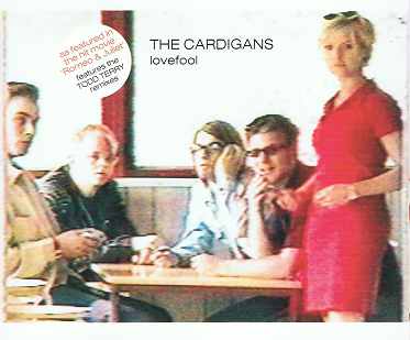 THE CARDIGANS Lovefool CD Single Polydor 1997