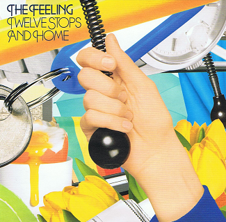 THE FEELING Twelve Stops And Home CD Album Island 2006