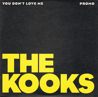 THE KOOKS You Don't Love Me CD Single PROMO Virgin 2005