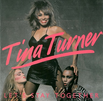 "TINA TURNER Let's Stay Together 12"" Single Vinyl Record Capitol 1983"