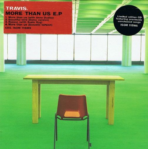 TRAVIS More Than Us E.P. CD Single Independiente 1998