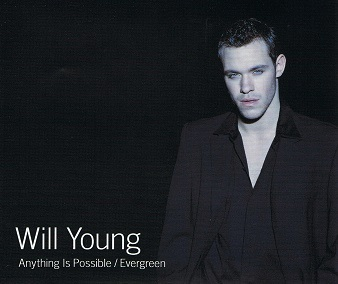 WILL YOUNG Anything Is Possible / Evergreen CD Single 19 2002