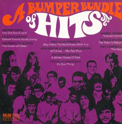 A Bumper Bundle Of Hits Vinyl Record LP Major Minor 1969