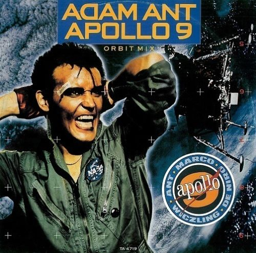 "ADAM ANT Apollo 9 (Orbit Mix) 12"" Single Vinyl Record CBS 1984"