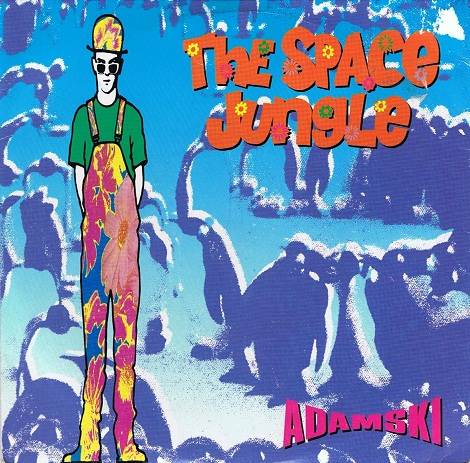 "ADAMSKI The Space Jungle 7"" Single Vinyl Record 45rpm MCA 1990"